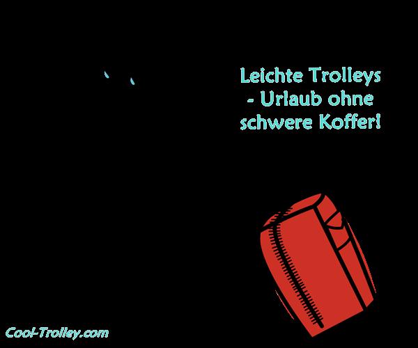 Leichte Trolleys & leichte Reisekoffer mit Rollen