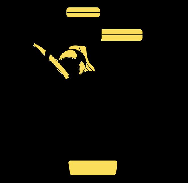 Gelbe Trolley Koffer, Handgepäck und Koffersets