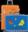 Koffer mit Tiermotiv