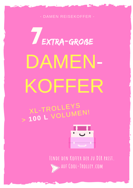 XL Damenkoffer - Trolley
