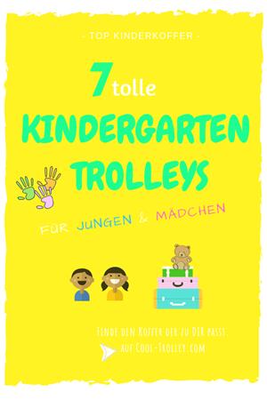 Kindergarten Trolleys für Mädchen und Jungen